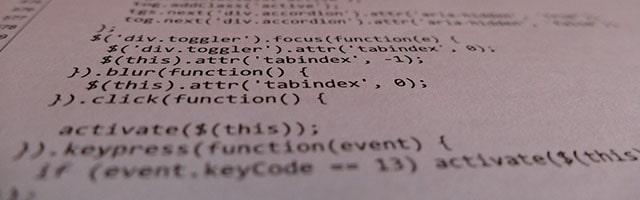 програмний код jQuery