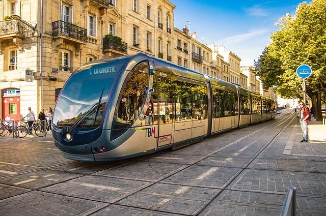 трмвай у Бордо, Франція