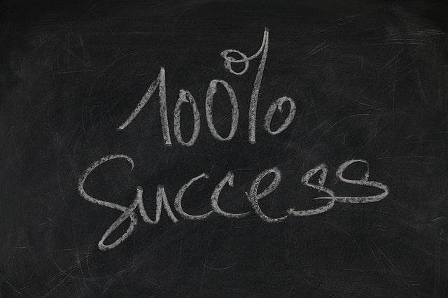 успіх на сто відсотків