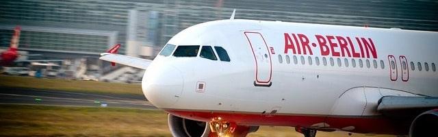 літак авіакомпанії Air Berlin