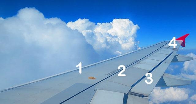 крило пасажирського літака Airbus