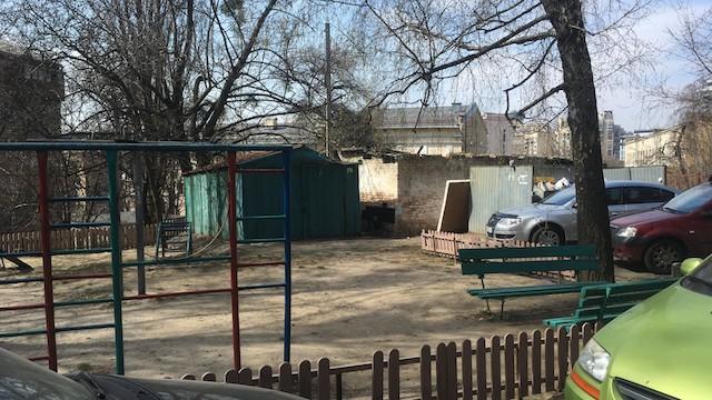 дитяча площадка, Київ, Печерськ